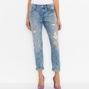 LEVI'S 501 CT Button Fly Distressed